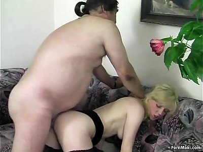 Blonde mature gets what she wants
