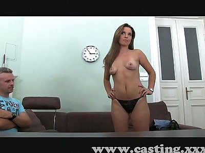 Casting Hot amateur and pervy BF
